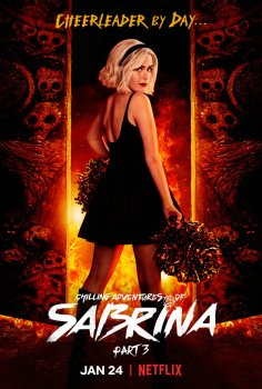 chilling adventures of sabrina plakat